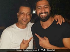 <I>Sanju</I>: Vicky Kaushal Shares Pic With Real Life Kamli. The Internet Simply Loves It