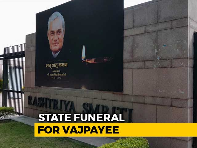 Video : Rashtriya Smriti Sthal Ahead Of The Atal Bihari Vajpayee's Last Rites