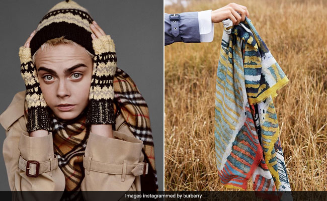 Fashion brand Burberry burn £28 million worth of their clothes