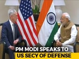 Video : PM Modi, US Defense Secretary Meet, Discuss Cooperation In The Indo-Pacific