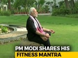 Video : PM Modi Shares His Fitness Challenge Video, Nominates HD Kumaraswamy