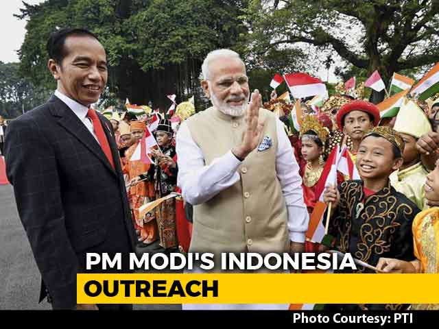 Video : PM Modi's 'Act East' Push In Indonesia To Counter China