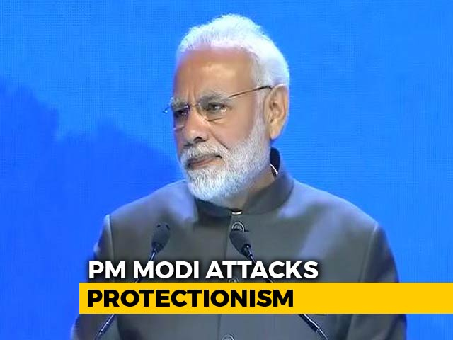Video : PM Modi, At Singapore Shangri-La Dialogue, Speaks Against Protectionism