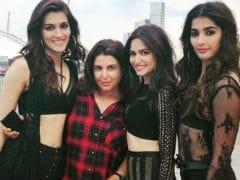It's <I>Housefull</I> With The Leading Ladies! Hello there, Kriti Sanon, Pooja Hegde, Kriti Kharbanda