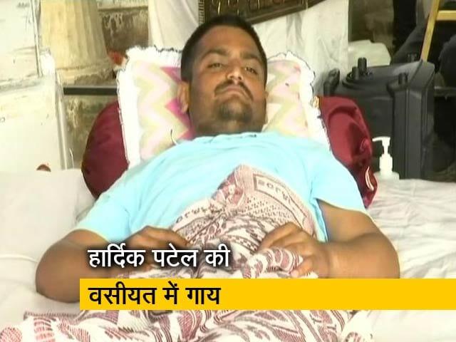 Videos : हार्दिक पटेल ने लिखी वसीयत, बीमार गायों के लिए भी दिया पैसा