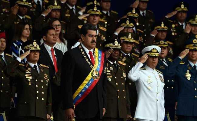 6 'Terrorists' Arrested Over Assassination Attempt On Nicolas Maduro