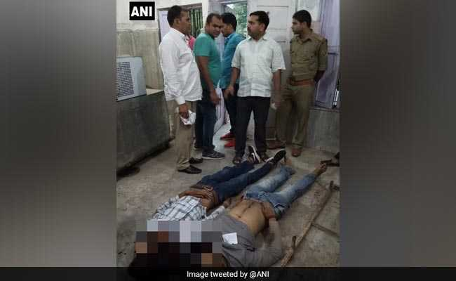 Encounter In Meerut, 2 Criminals With A Reward Of Rs 25,000 Gunned Down