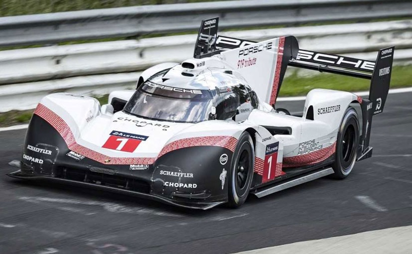 Porsche 919 Hybrid Evo Sets Record Time At The Nurburgring