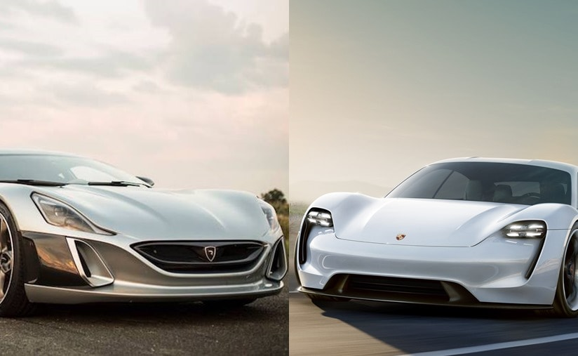 Porsche AG has taken a minority shareholding of 10 per cent in Rimac Automobili