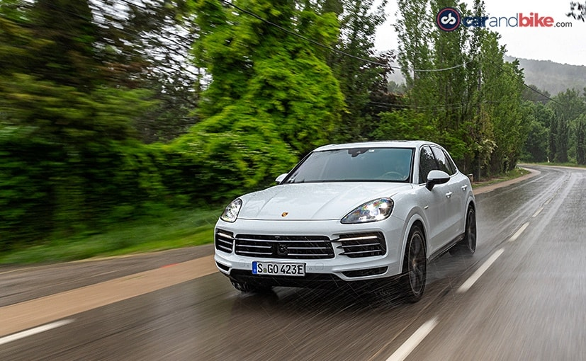 The Porsche Cayenne is one of the best-selling Porsche cars in India