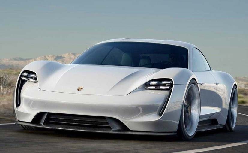 It's the Porsche Taycan - Porsche gives the Mission E a production name