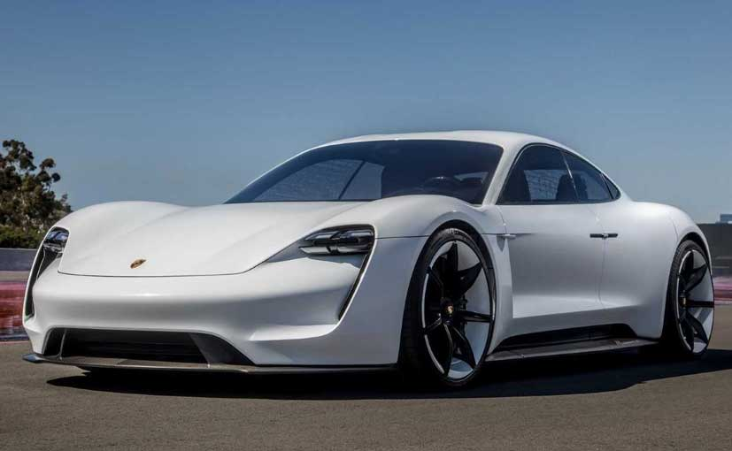 The Porsche Taycan electric car will make it to India by 2020.