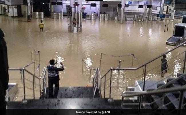 Heavy Rain Floods Port Blair Airport, Operations Affected