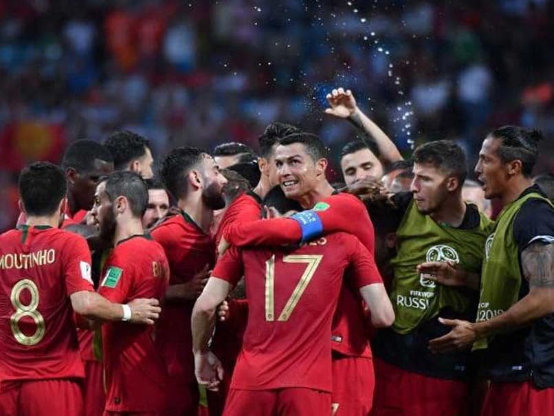 Portugal star becomes second leading worldwide  scorer with Morocco goal