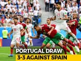 Video : World Cup 2018, Day 2: Cristiano Ronaldo Hat-Trick Helps Portugal Deny Spain Thriller