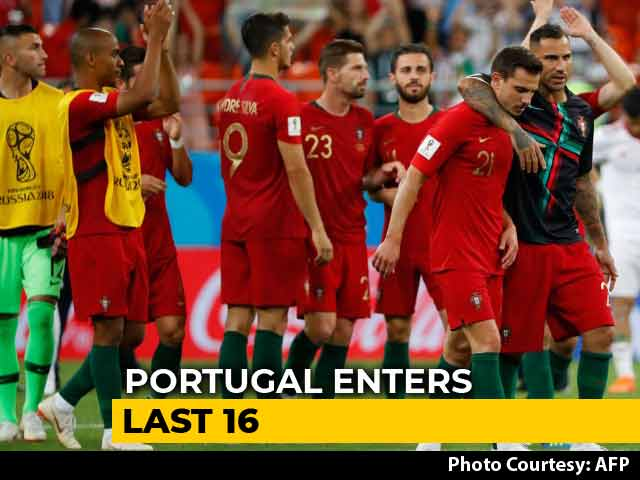 Video : FIFA World Cup 2018: Portugal, Spain Enter Last 16