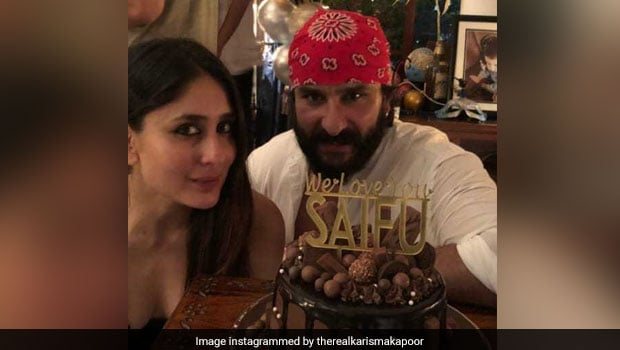 Happy Birthday Saif Ali Khan: The Sacred Games Actor's Cake Looks Like A Delicious Chocolate Explosion! (See Pics)