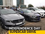 Video: Supercars In Mumbai: Throttle97 Independence Day Drive 2018