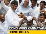 Video : Congress-JDS Beat Us Again, Cedes BJP On Karnataka Urban Polls