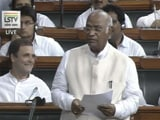 Video : Wrong To Say Nothing Done In 70 Years, Says Congress' Mallikarjun Kharge