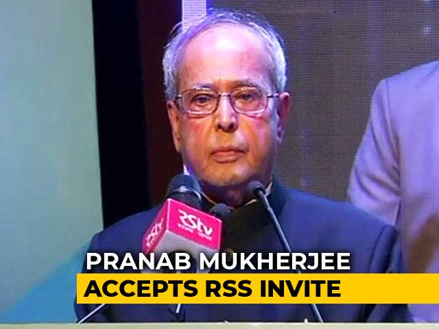 Video : Pranab Mukherjee Accepts RSS Invite To Address Trainees In Nagpur