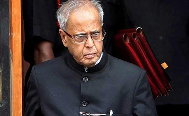"""Father Always Said"": Son's Moving Post On Pranab Mukerjee, In Hospital"