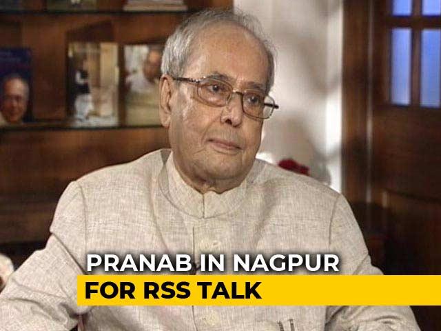 Video : Pranab Mukherjee's RSS Speech Will Be Forgotten, Not Visuals: Daughter Sharmishta Mukherjee