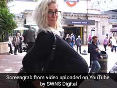 मेट्रो के अंदर प्रेग्नेंट महिला से इस तरह पेश आते हैं लोग, वीडियो वायरल