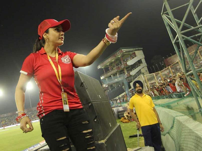 IPL 2018: Preity Zinta Upset About