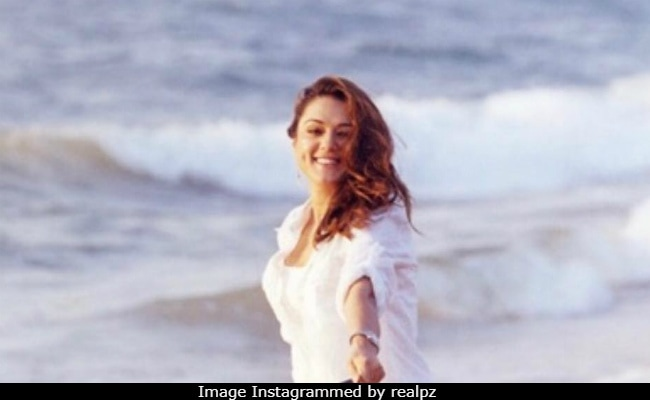 Salman Khan 'Will Never Guess' Who Features In Preity Zinta's Throwback Pic