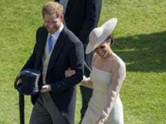 Newlyweds Prince Harry And Meghan Markle Make First Appearance