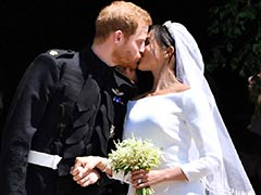 Sealed With A Kiss: Prince Harry, Meghan Tie The Knot In Dream Wedding