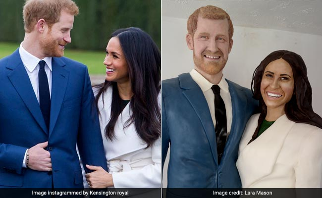 Royal Wedding: Prince Harry, Meghan Markle Turned Into Life-Sized Cake