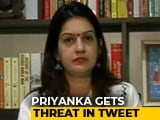 Video : Congress' Priyanka Chaturvedi Threatened In Tweet, Troll's Handle Deleted