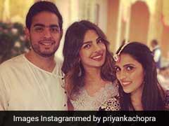 Akash Ambani And Shloka Mehta's <i>Mehendi</i>. Priyanka Chopra Shares Photo