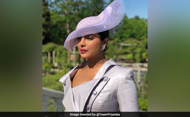 priyanka chopra at royal wedding twitter