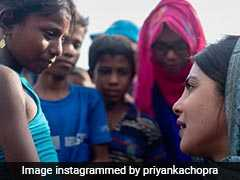"""Saw Vacancy In Their Eyes"": Priyanka Chopra On Rohingya Refugee Children"