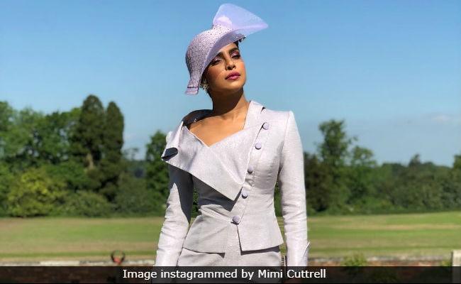 Priyanka Chopra Attends Meghan Markle And Prince Harry's Wedding