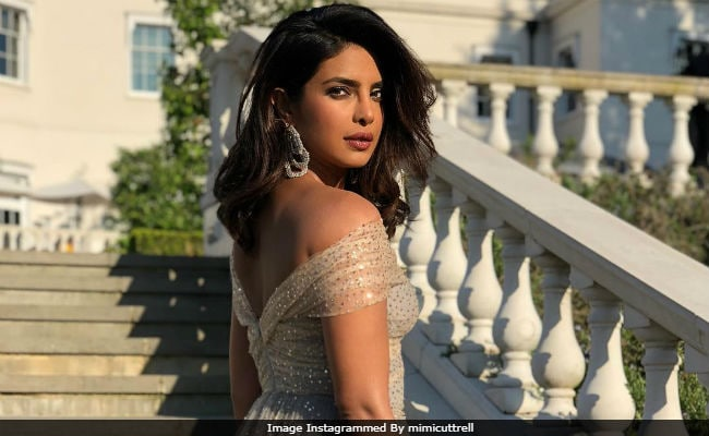 Prince Harry Wedding Reception.Priyanka Chopra Makes A Gorgeous Appearance At Meghan Markle