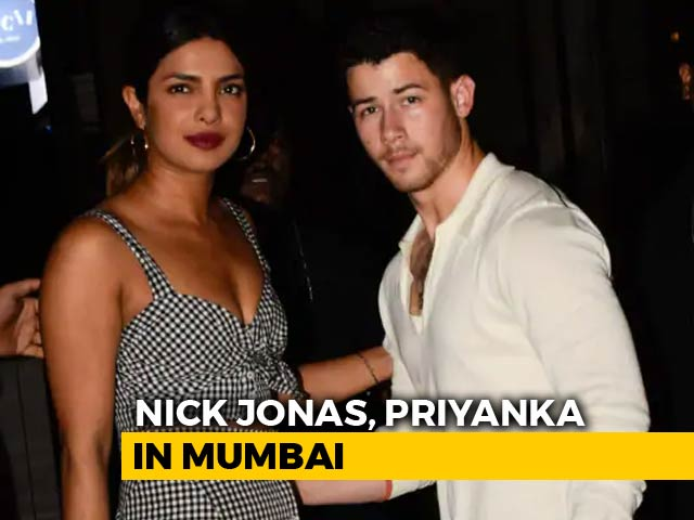 Watch! Nick Jonas & Priyanka Chopra's Night Out In Mumbai