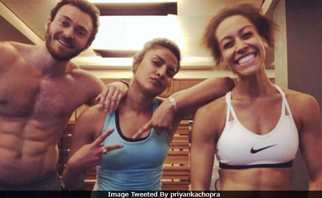 Priyanka Chopra Posts About Fitness Challenge With A Pic From Gym