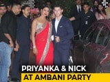 Video : Priyanka Chopra, Nick Jonas Make Couple Entry At Akash And Shloka's Party
