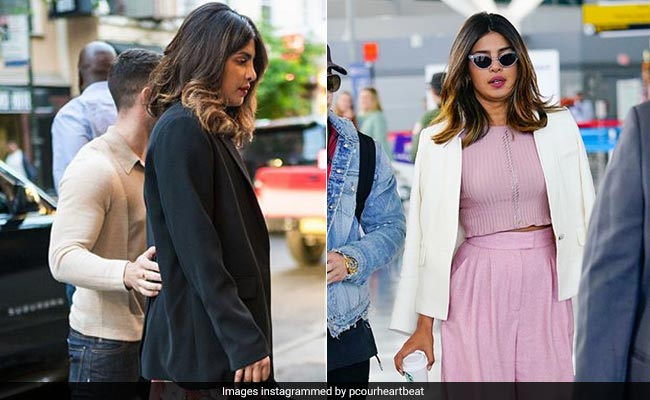 Priyanka Chopra's Date (With Nick Jonas, Duh) Outfits Seem A Bit, Umm, Boring