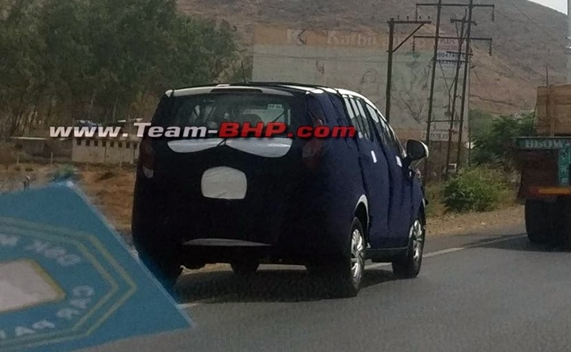 production spec mahindra u321 spied