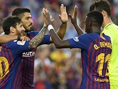 La Liga: Lionel Messi, Luis Suarez Hit Doubles In 8-2 Rout Of Huesca