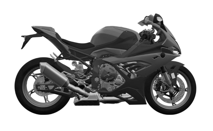 The 2019 model will not have the trademark asymmetrical headlights on the S 1000 RR