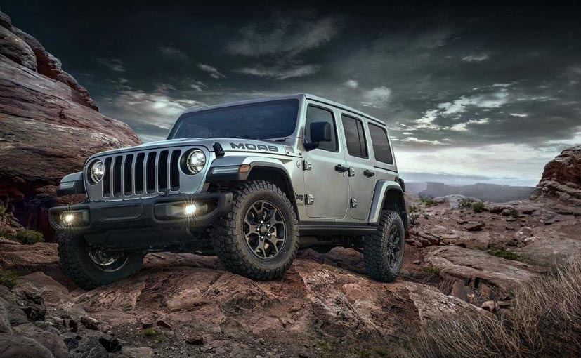 The 2018 Jeep Wrangler Moab Edition is based on the all-new Jeep Wrangler