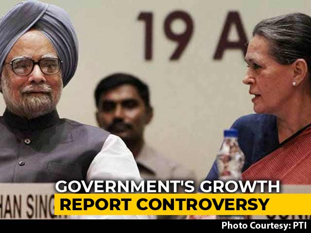 Video : Why Report Assessing Highest Growth Under UPA Is Gone From Ministry Site