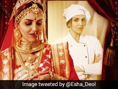बंगाली दुल्हन के लुक में दिखीं ईशा देओल, 'केकवॉक' से करने जा रही कमबैक