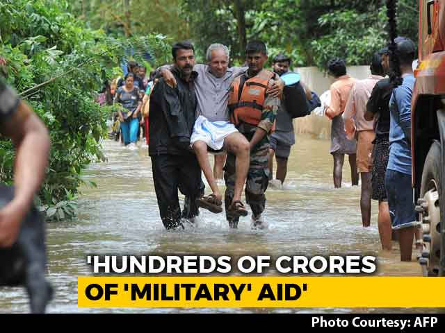 Video: Centre Clarifies On Rs. 600-Crore Kerala Aid As Foreign Help Row Escalates